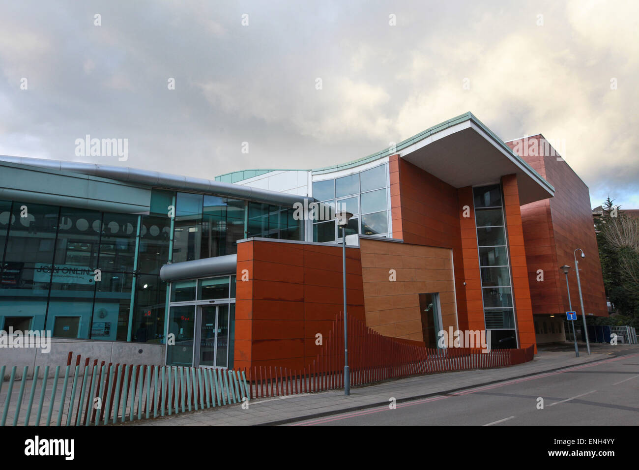 Freeman's Quay leisure centre Durham - Stock Image