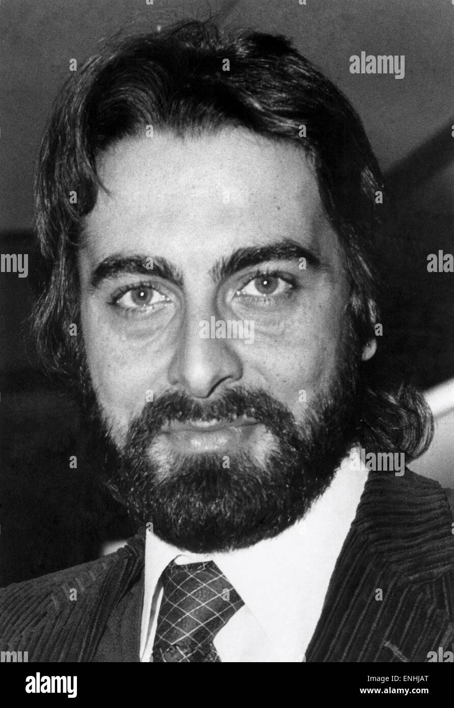 Kabir Bedi, the 33 years old Indian actor, photographed during his recent London visit. May 1979. - Stock Image