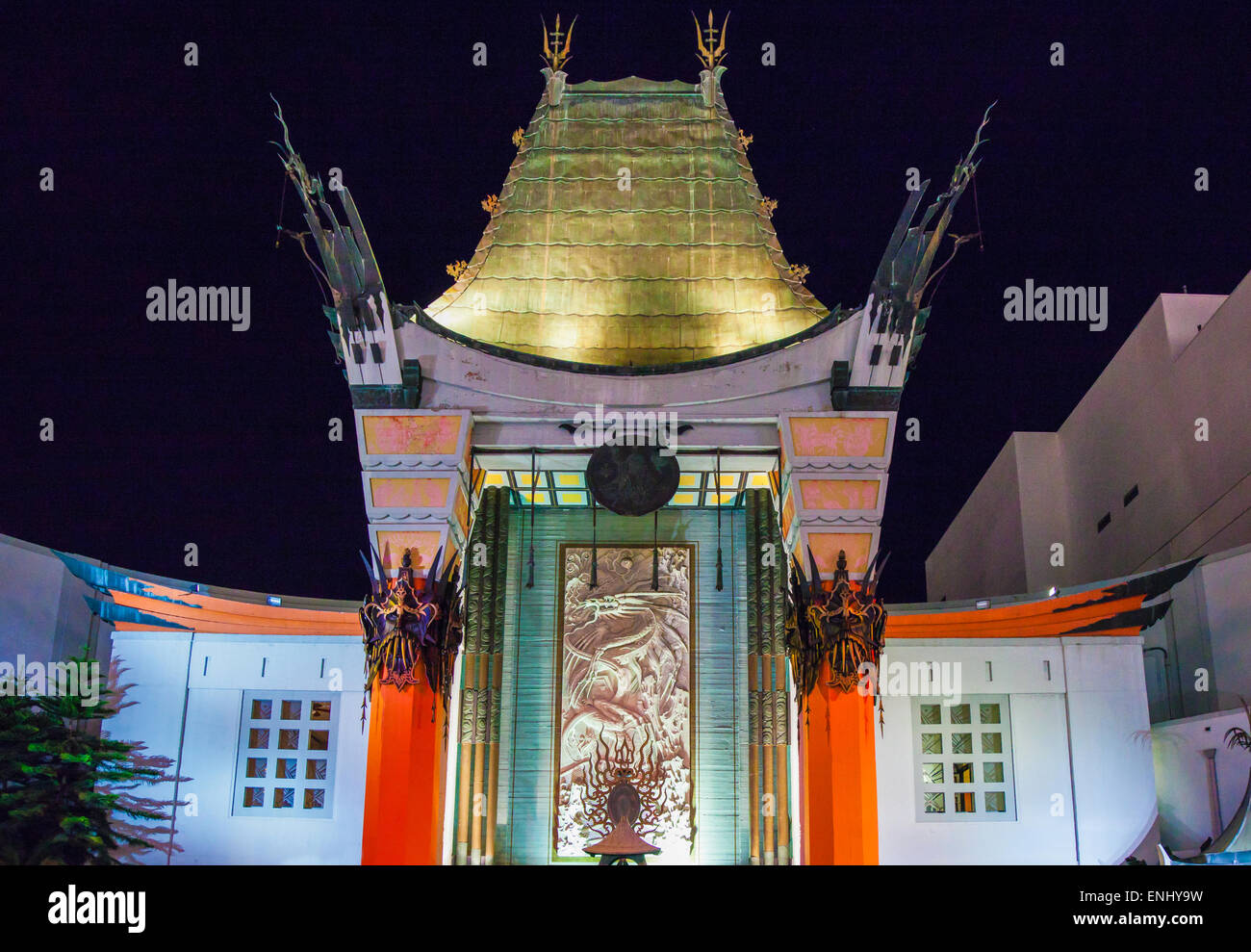 U.S.A., California, Los Angeles, Hollywood, the Grauman's Chinese Theatre - Stock Image