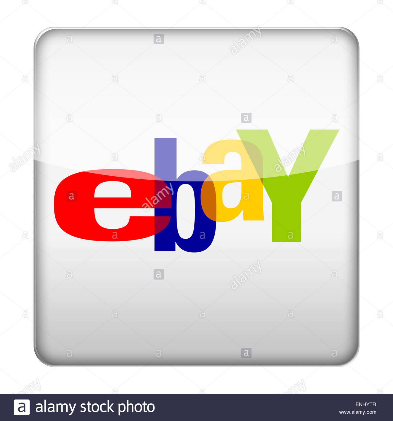 Ebay logo icon - Stock Image