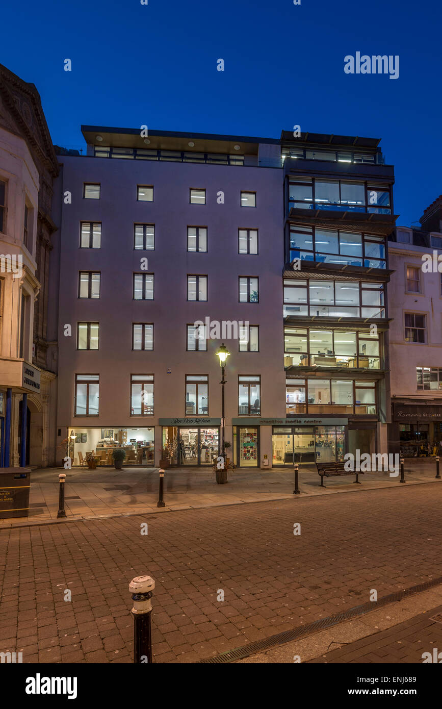 Creative Media Centre in Hastings. East Sussex. UK - Stock Image