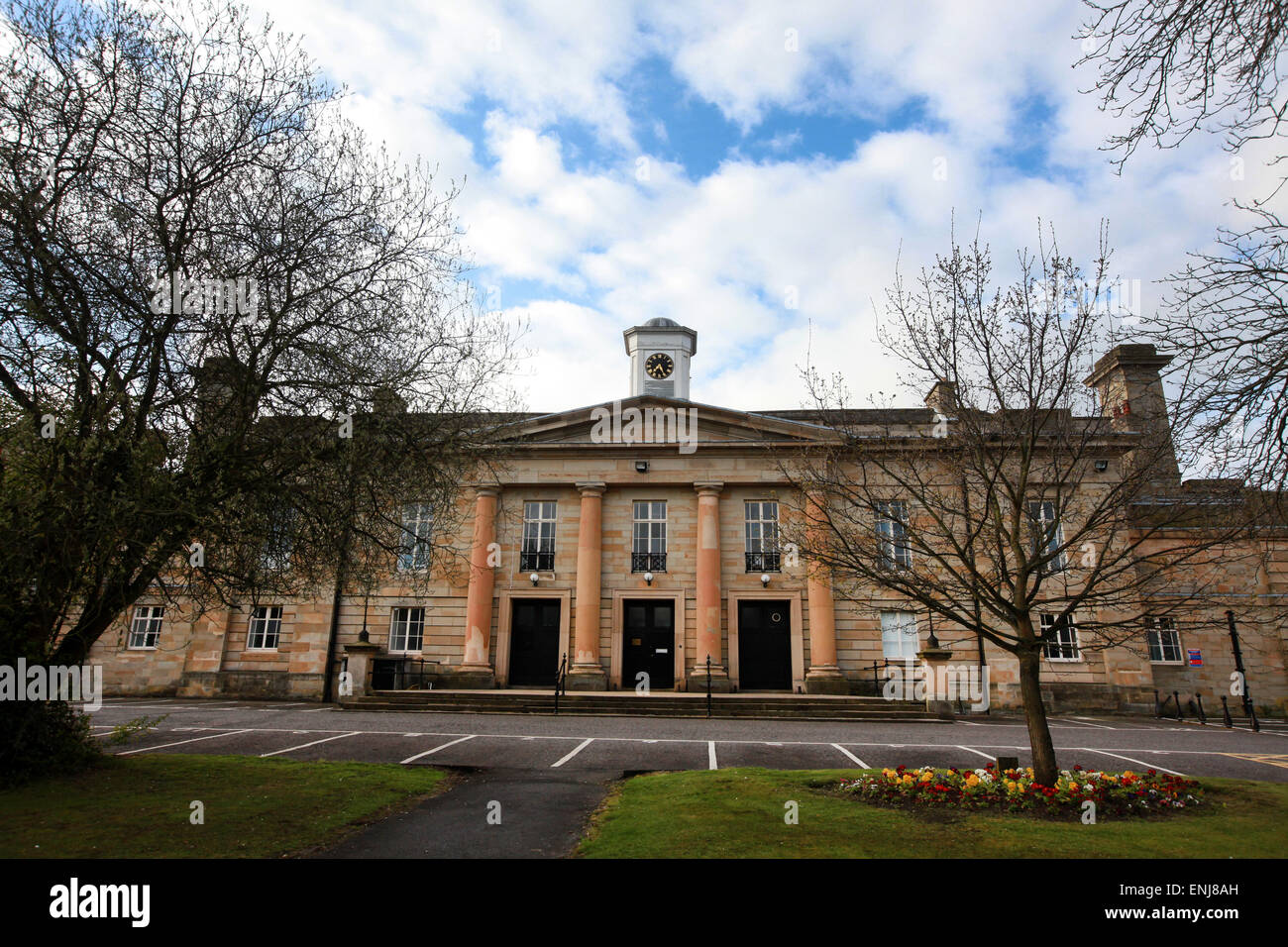 Durham Crown Court in Durham UK - Stock Image