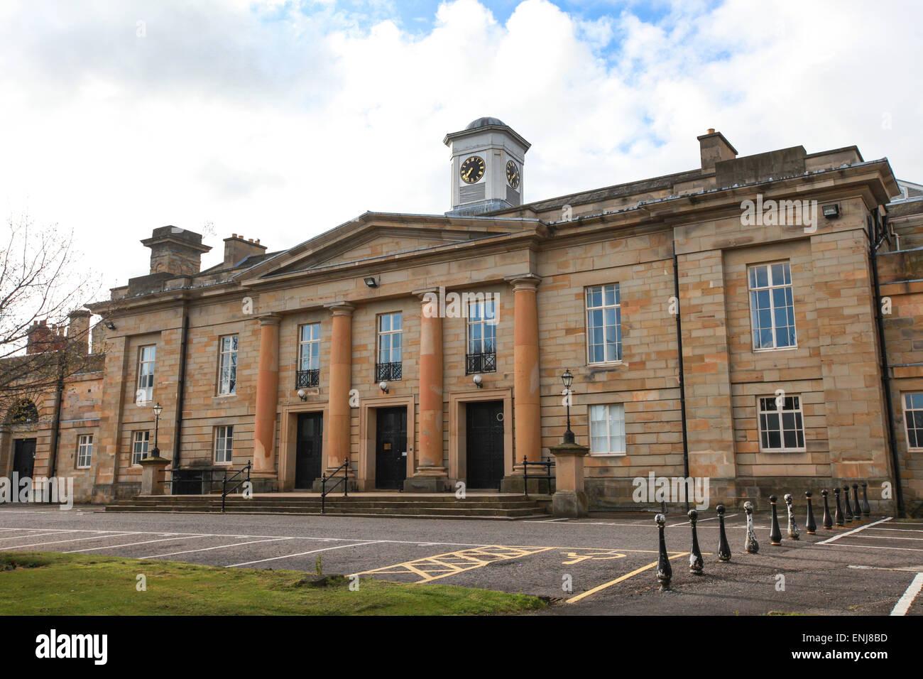 Durham Crown Court in Durham UK - Stock Image