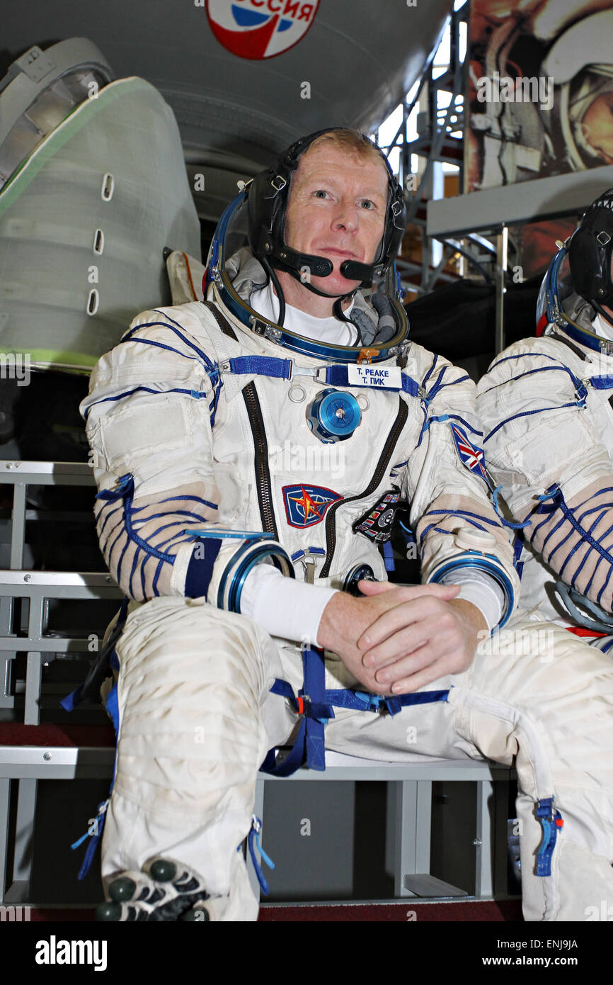Star City, Russia. 06th May, 2015. International Space Station Expedition 44/45 backup crew member Britain Timothy - Stock Image