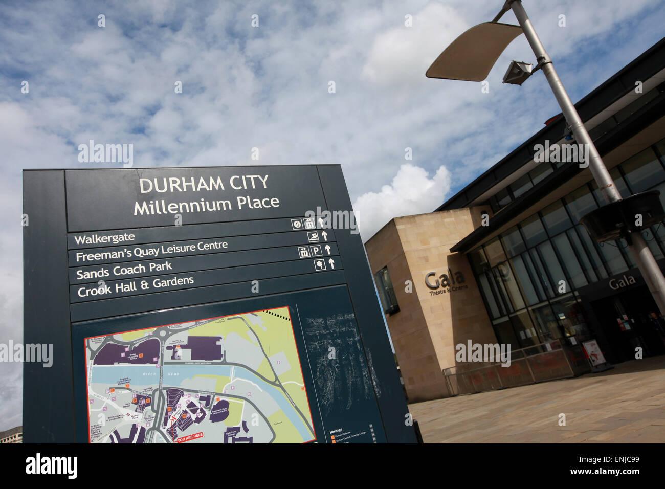 Gala Theatre Millennium Place Durham City Centre - Stock Image