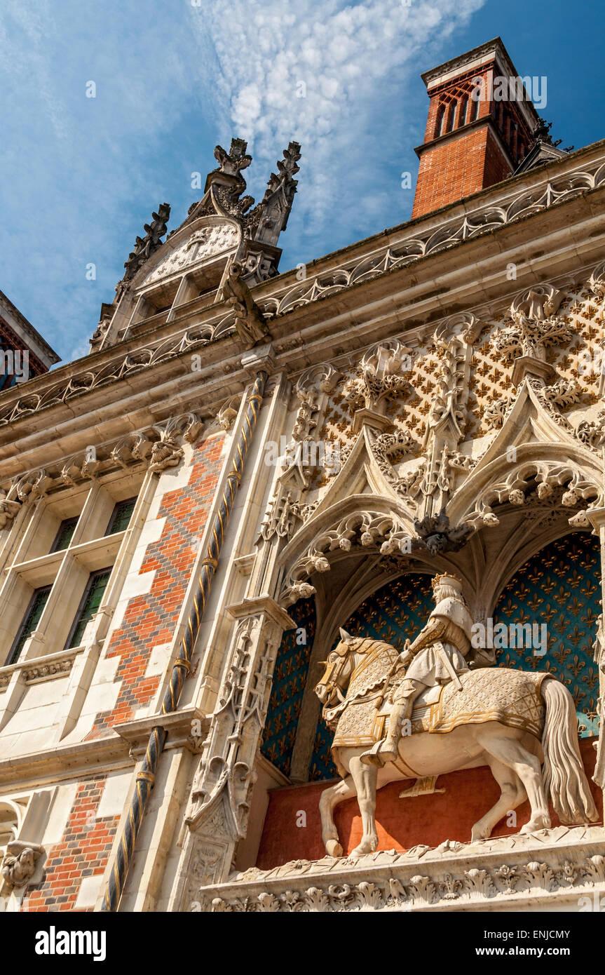 Detail, Chateau, Blois - Stock Image