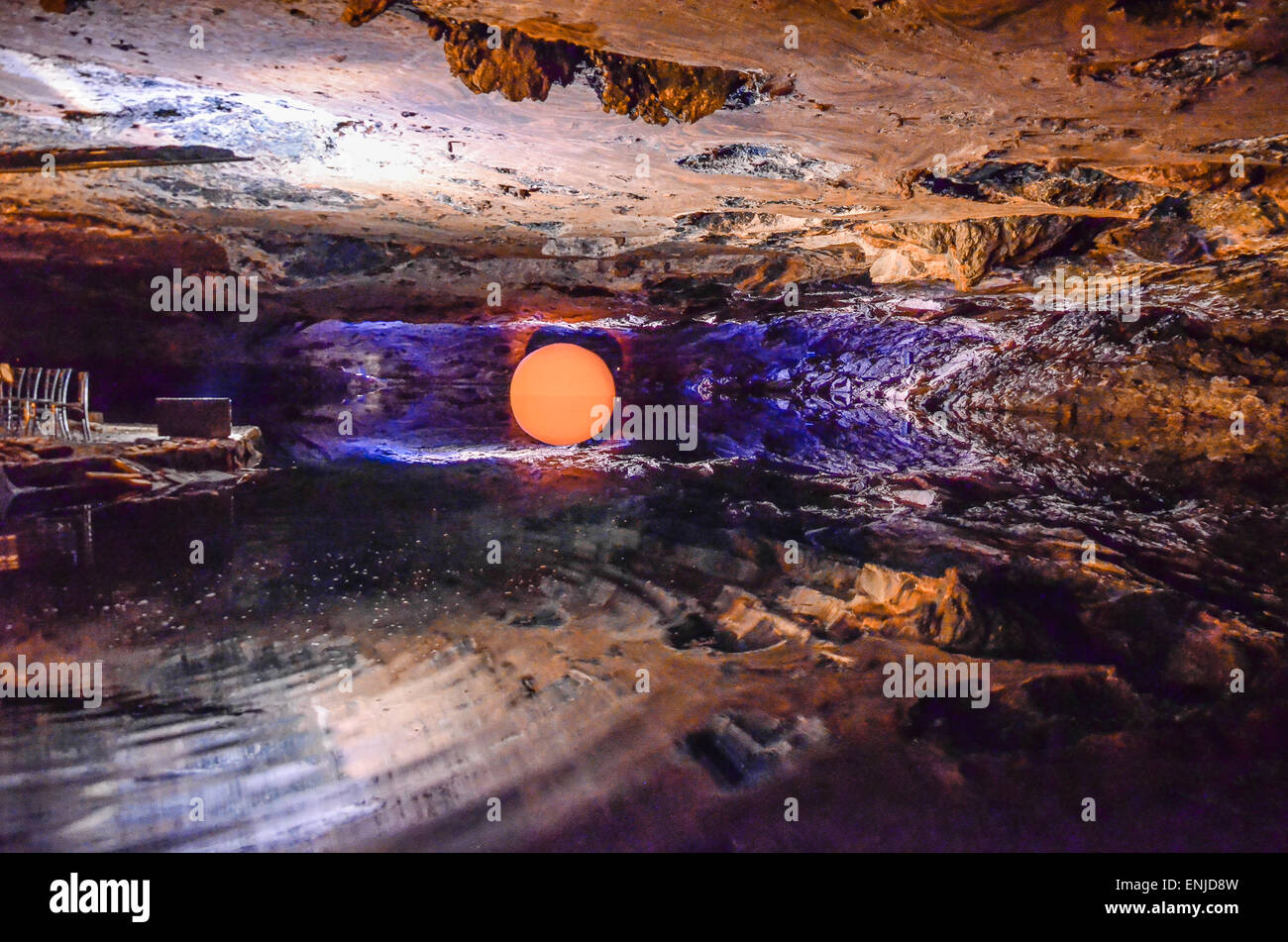 Altaussee Salt Mine in Ausseerland has a long and storied history. It all began during the High Middle Ages, in - Stock Image