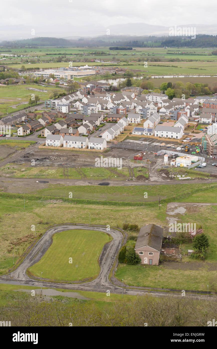 Urban regeneration in Scotland, UK - The Raploch, Stirling - Stock Image