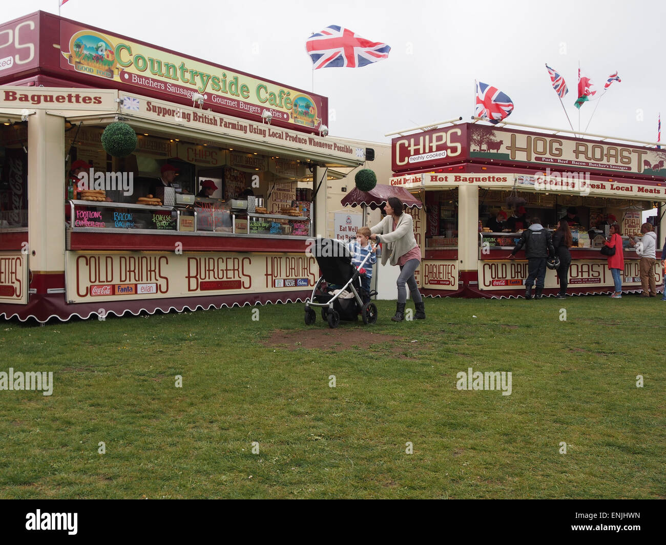 Food Trailers High Resolution Stock Photography And Images Alamy