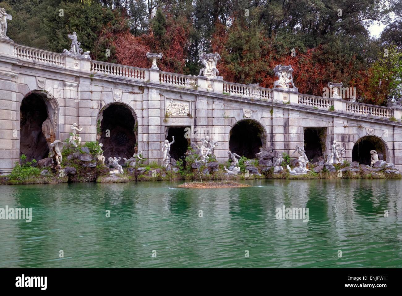 Royal Palace of Caserta, Caserta, Campania, Italy Stock Photo