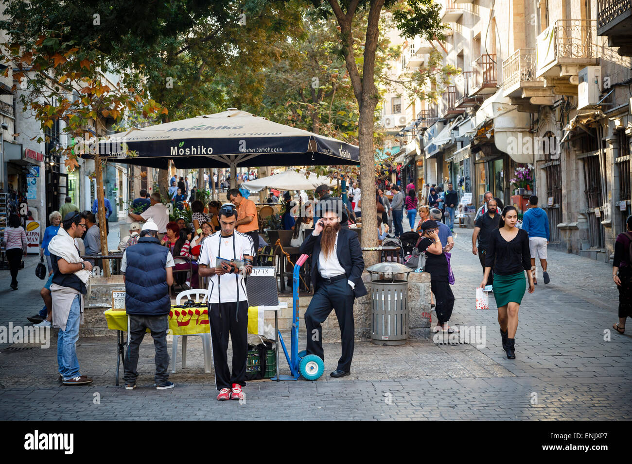 Ben Yehuda Jerusalem High Resolution Stock Photography And Images Alamy