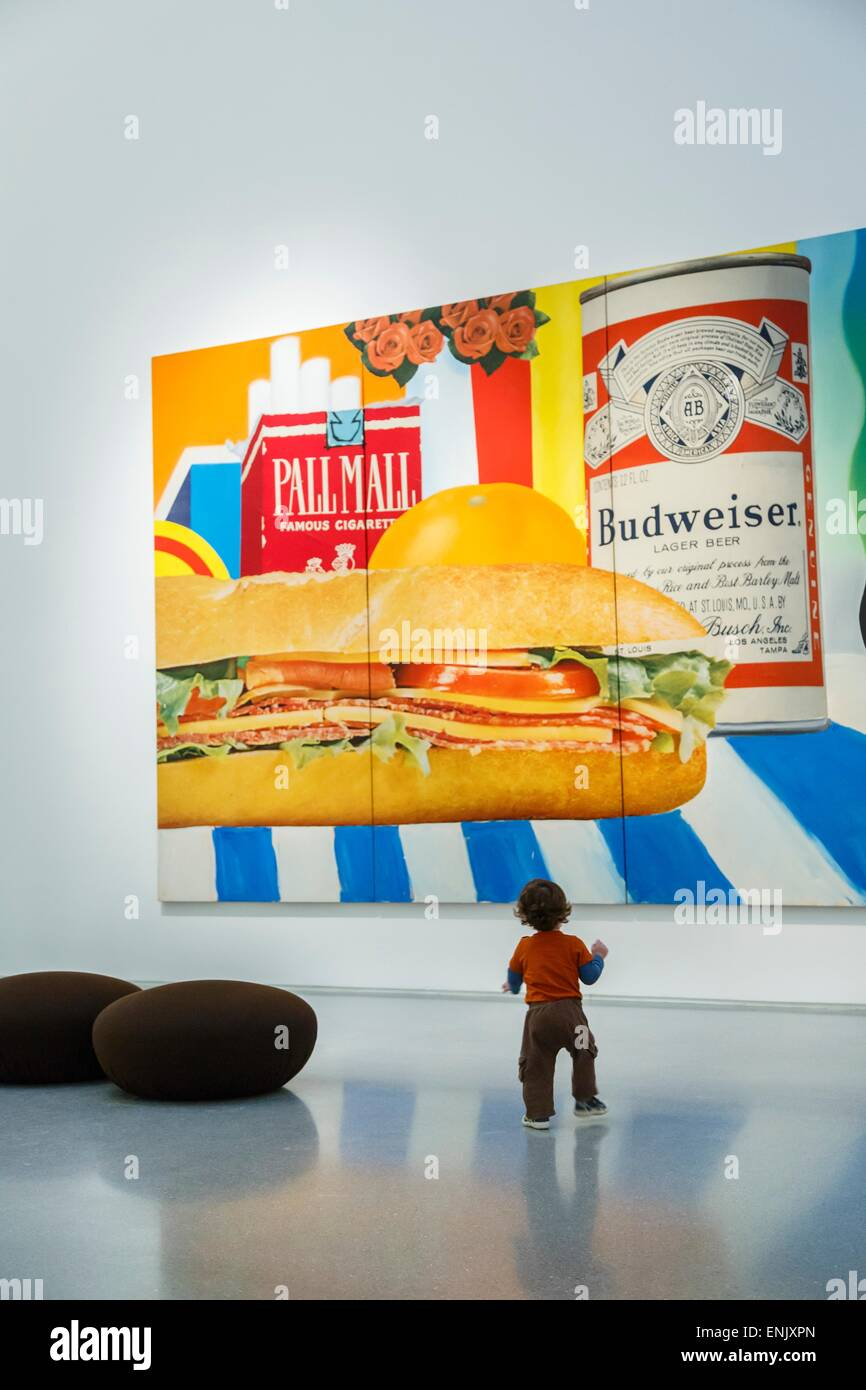 Still Life No. 33 by Tom Wesselmann, Israel Museum, Jerualem, Israel, Middle East Stock Photo