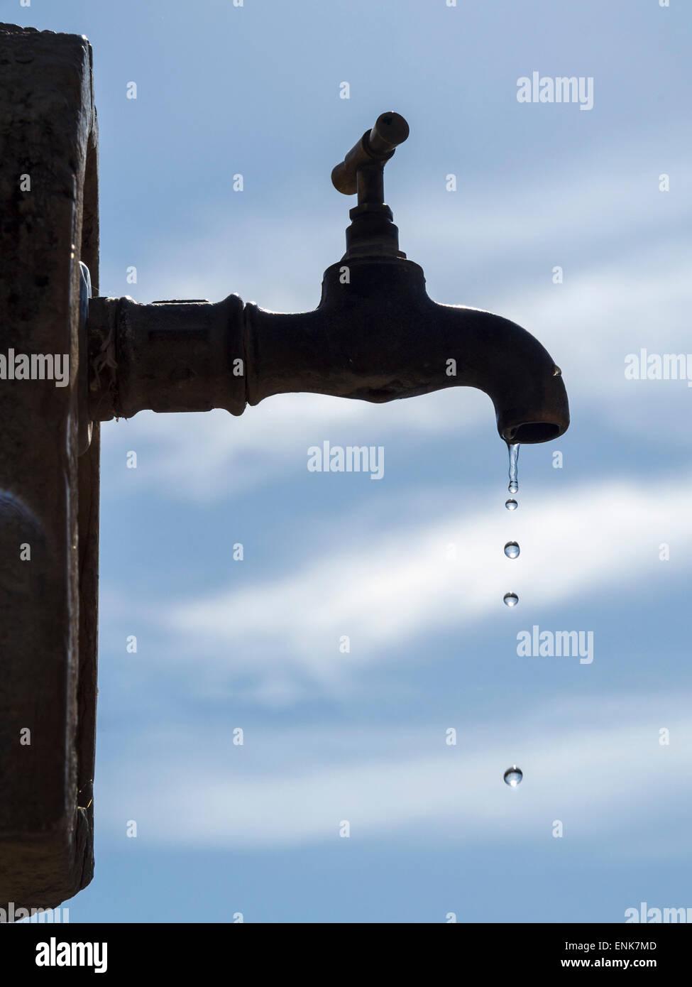 Outdoor Water Spigot Stock Photos & Outdoor Water Spigot Stock ...