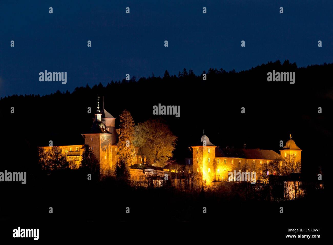 Schnellenberg Castle, Attendorn, Sauerland, North Rhine-Westfalia, Germany Stock Photo