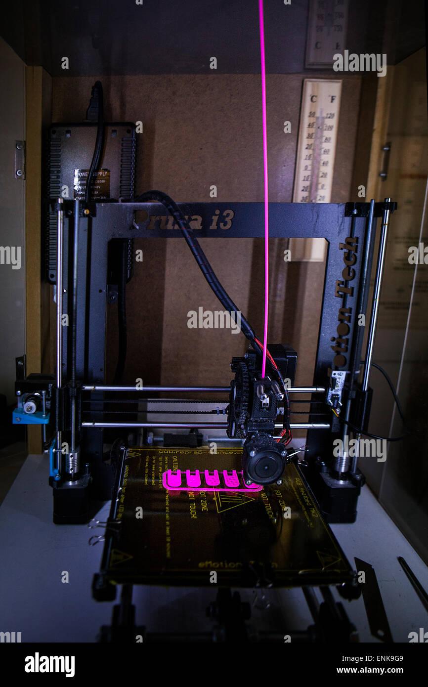 3d printing - Stock Image