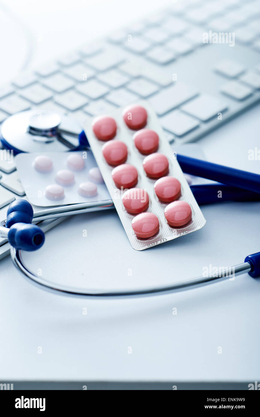 E-health Stock Photo