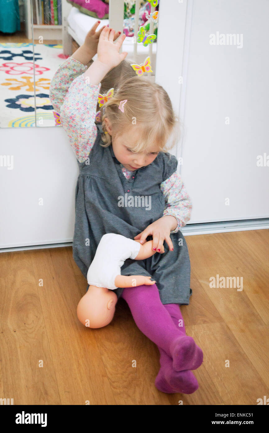 Violence, child - Stock Image