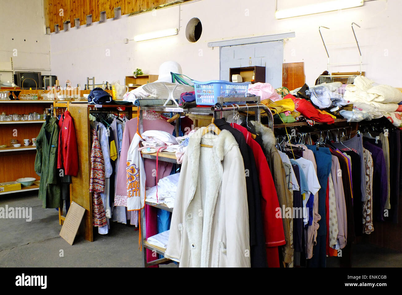 Secondhand shop - Stock Image