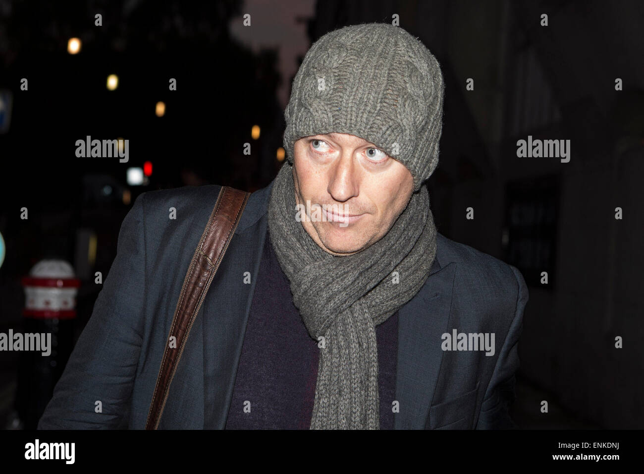Former News of the World journalist Ian Edmondson leaves the Old Bailey today after the trial into alleged hacking - Stock Image