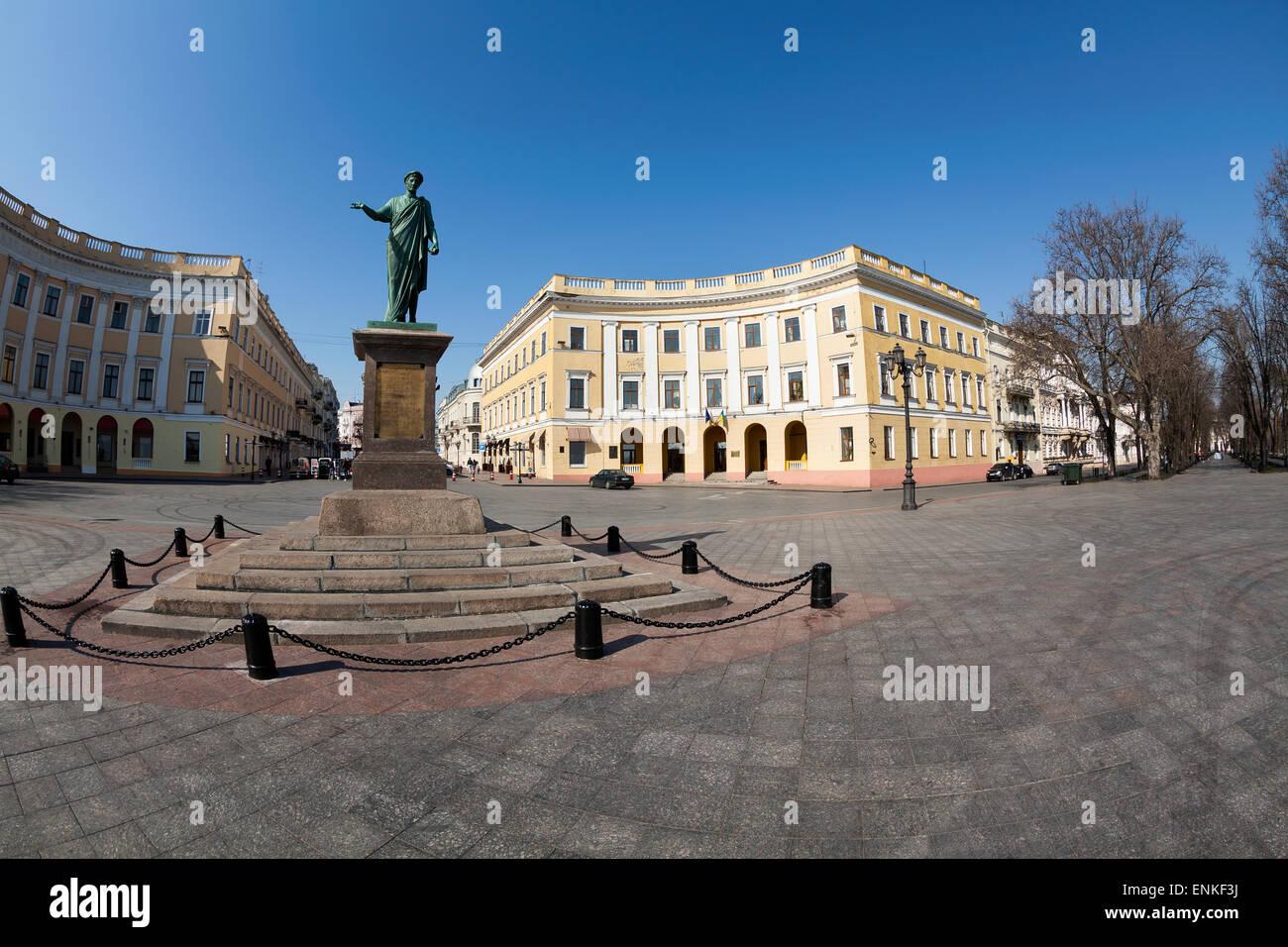 odessa landmark ukraine - Stock Image