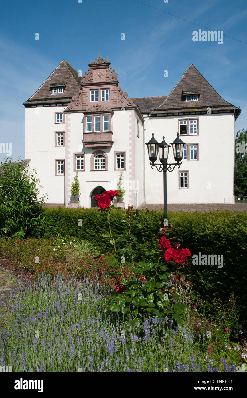 Schloss Fuerstenberg, Weserbergland, Lower Saxony, Germany - Stock Image