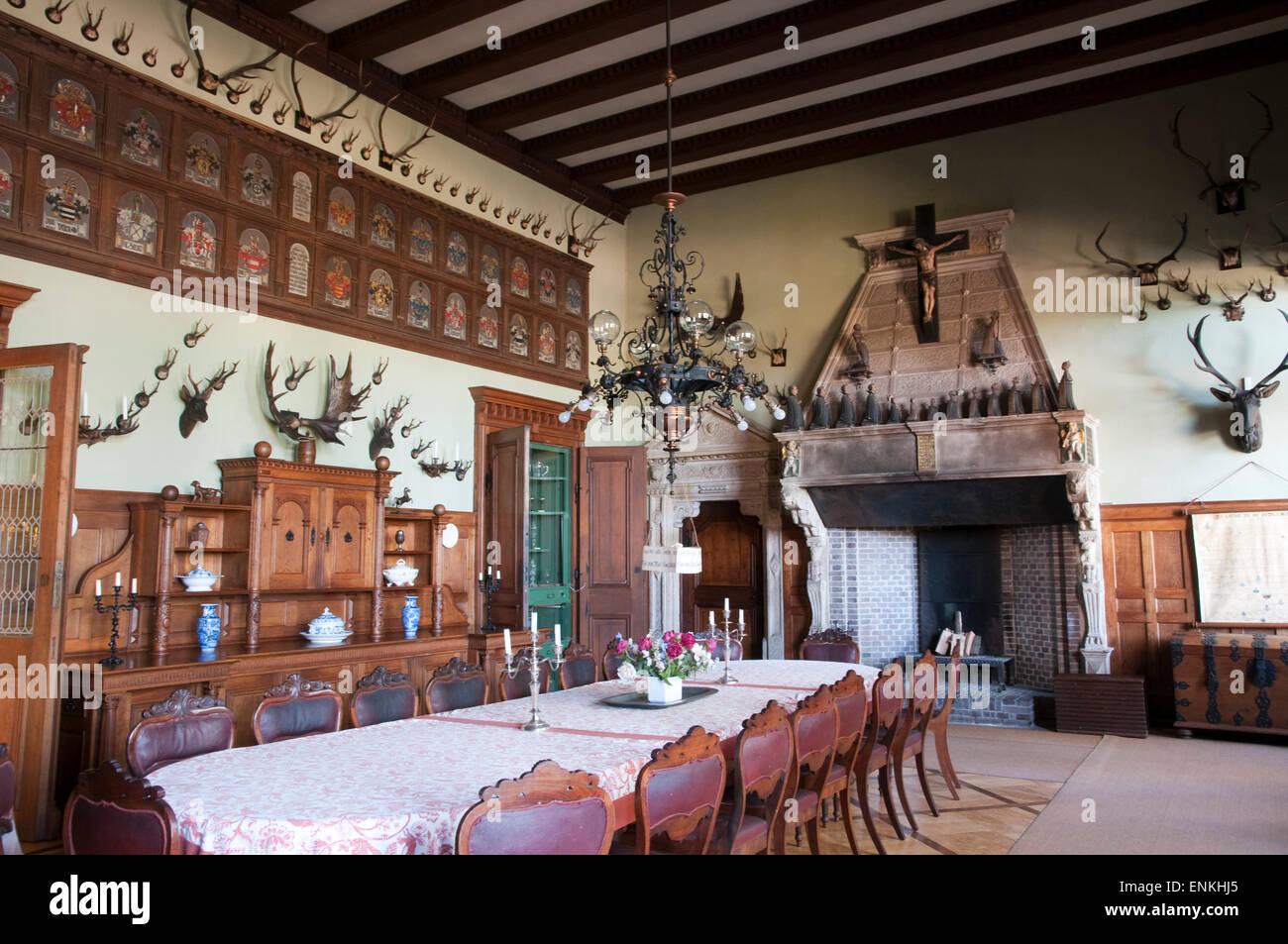 Schloss Haemelschenburg, Weserbergland, Lower Saxony, Germany Stock Photo