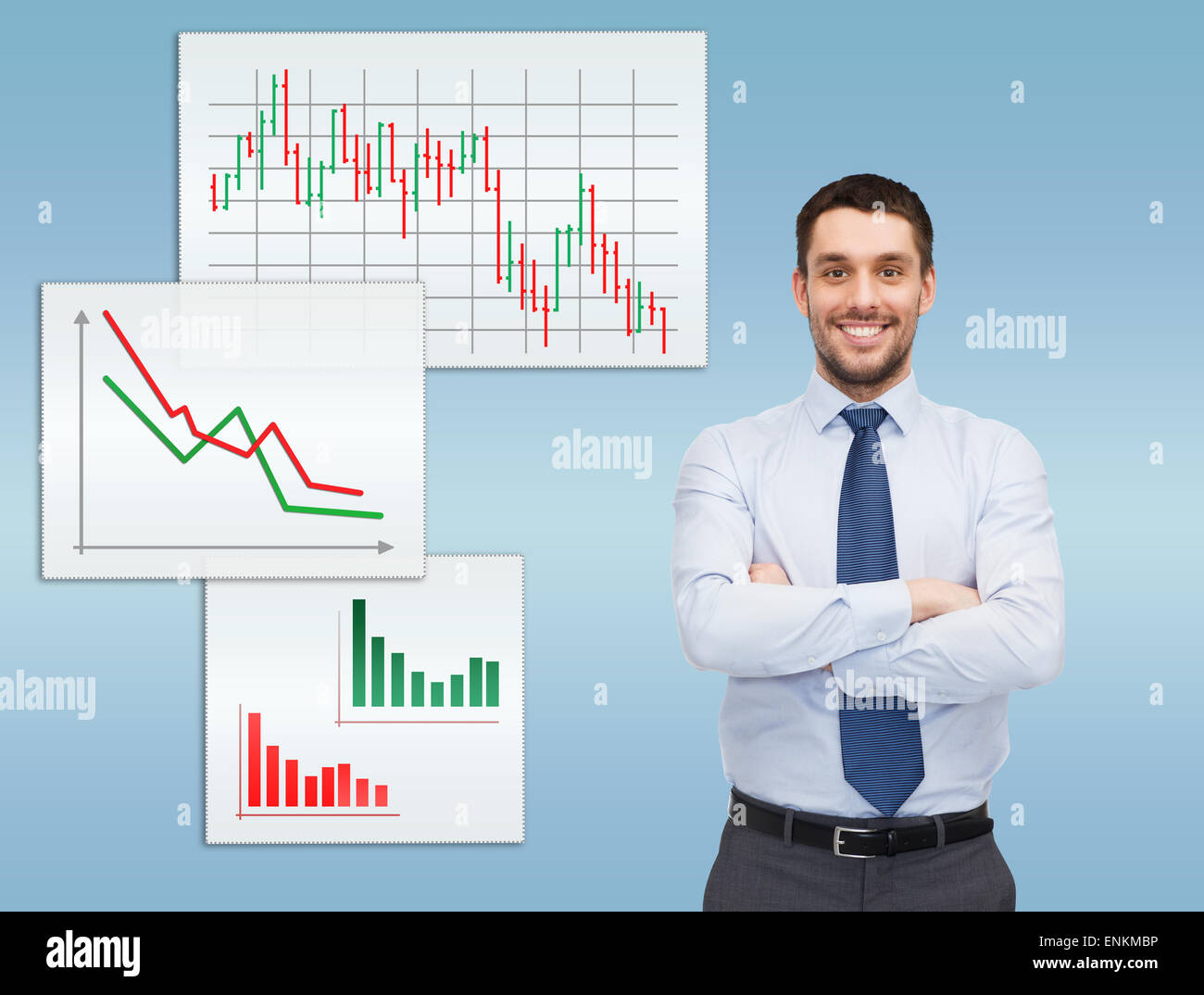 Business Man With Many Arms Stock Photos Business Man With