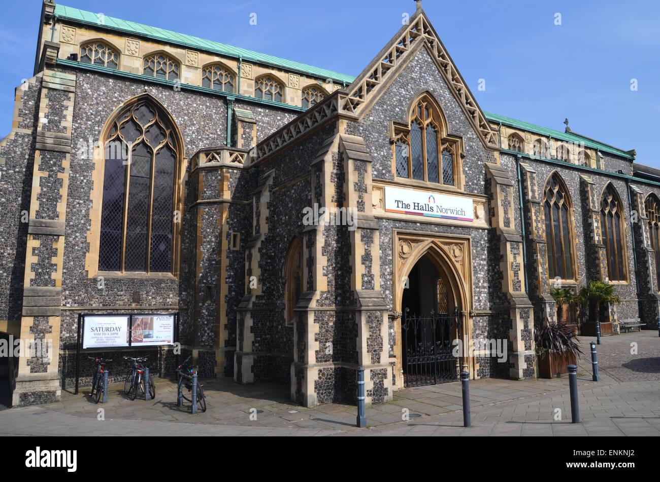 St Andrews Halls, now a concert venue, Norwich April 2015230 - Stock Image