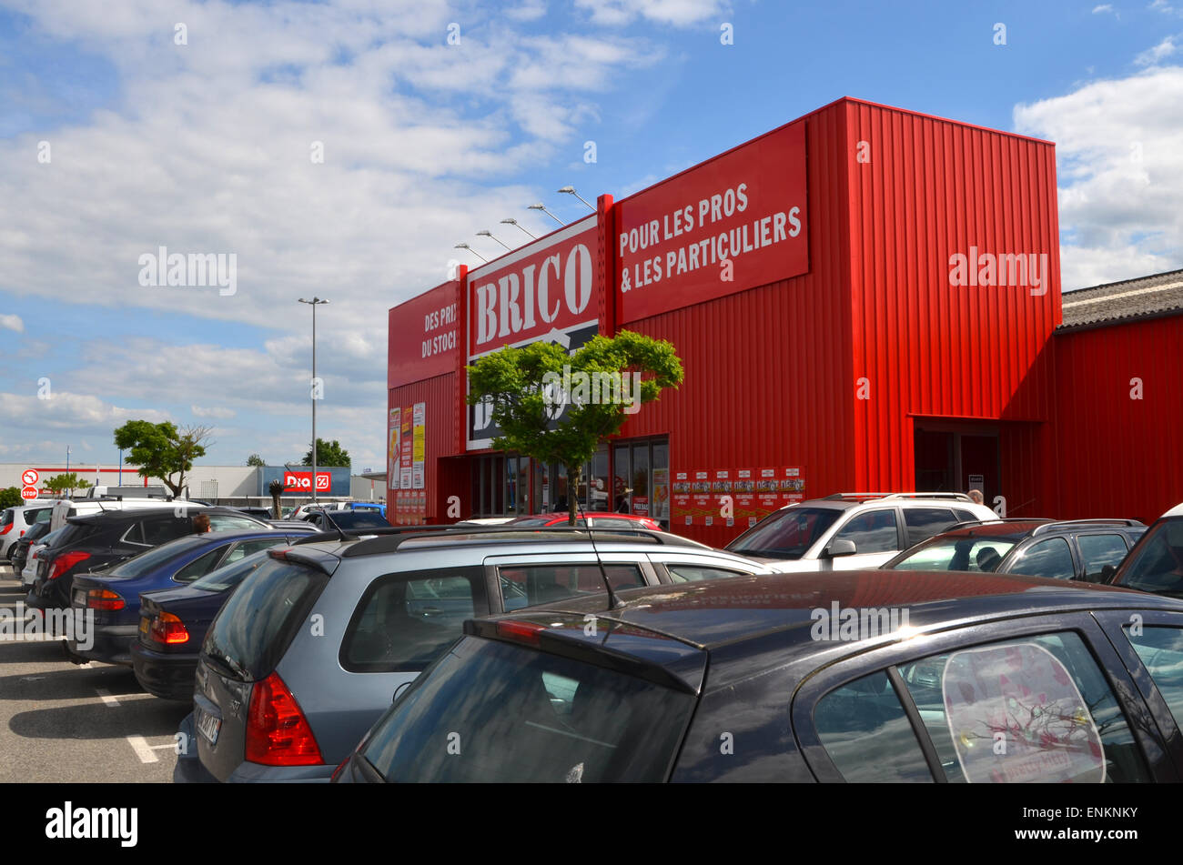 Brico Depot, DIY Store, France   Stock Image