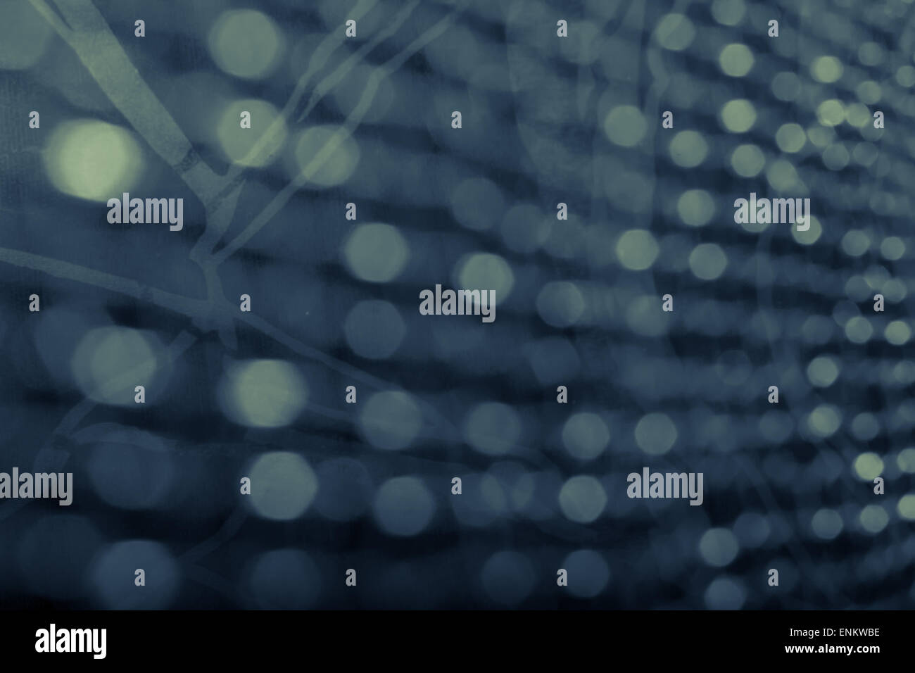 bokeh with abstract background - vintage style - Stock Image