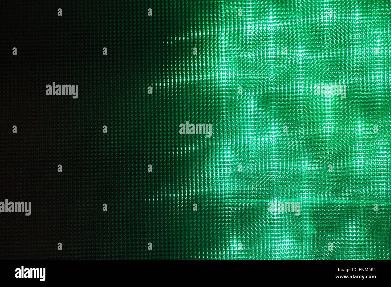 green disco Lights synthwave background club or funfair, lights