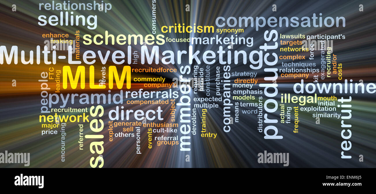 Background concept wordcloud illustration of multi-level