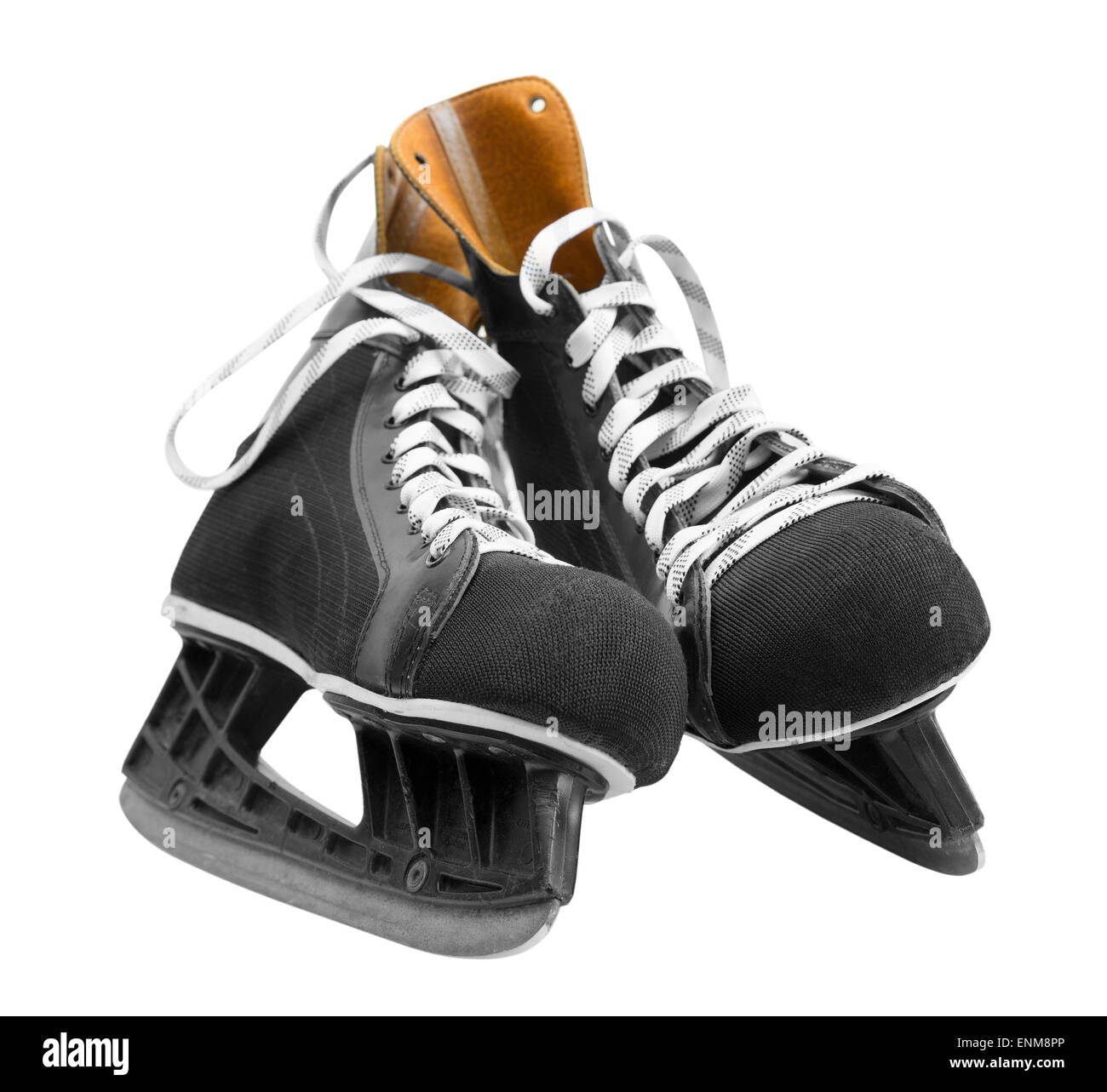 ice skate - Stock Image