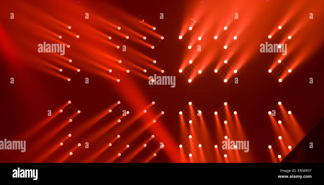 Stage Lights - Stock Image