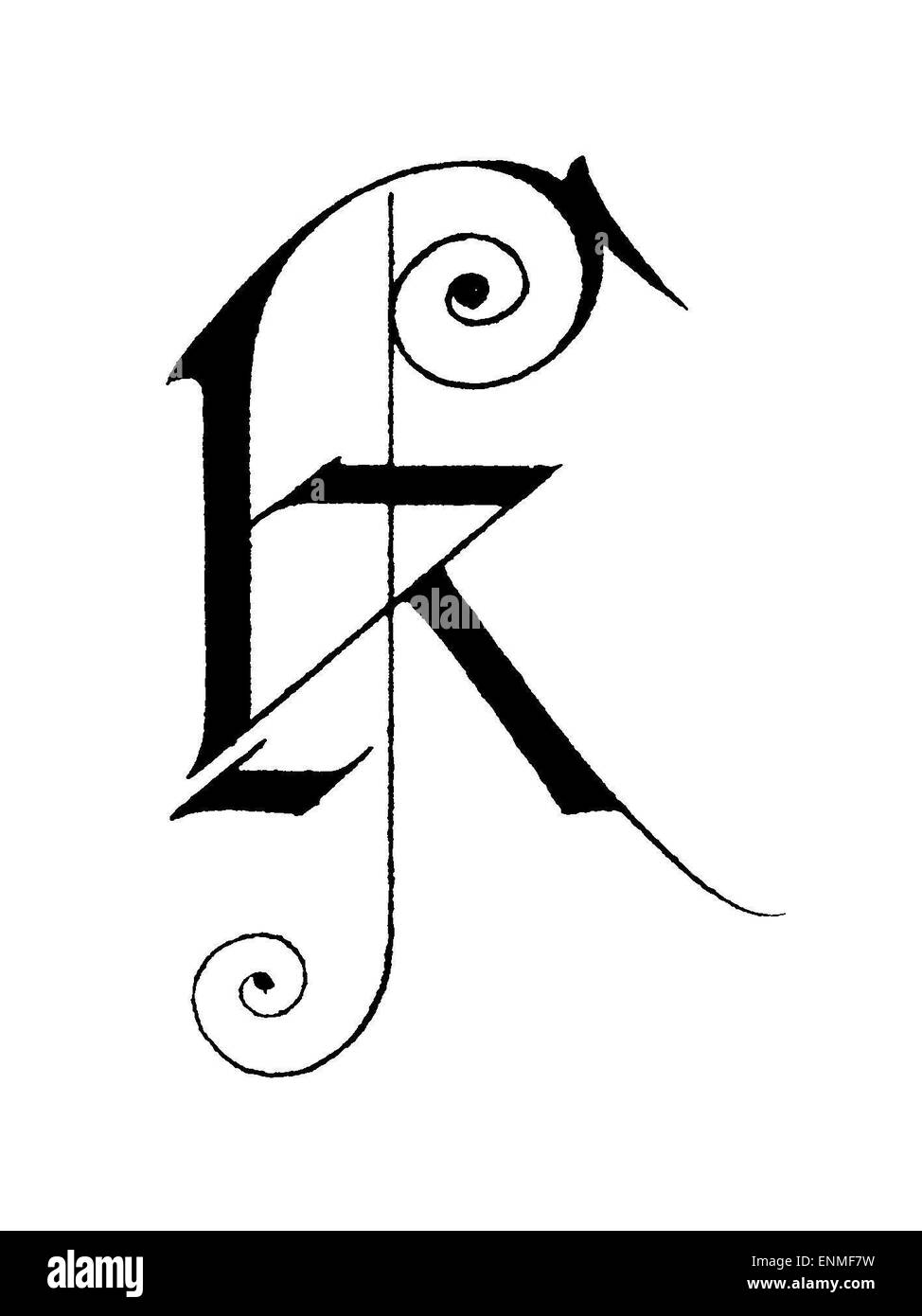 Letter K Black And White Stock Photos Images Alamy