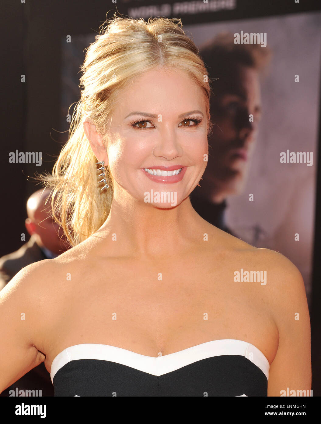 NANCY O'DELL US  TV personality in April 2015. Photo Jeffrey Mayer - Stock Image