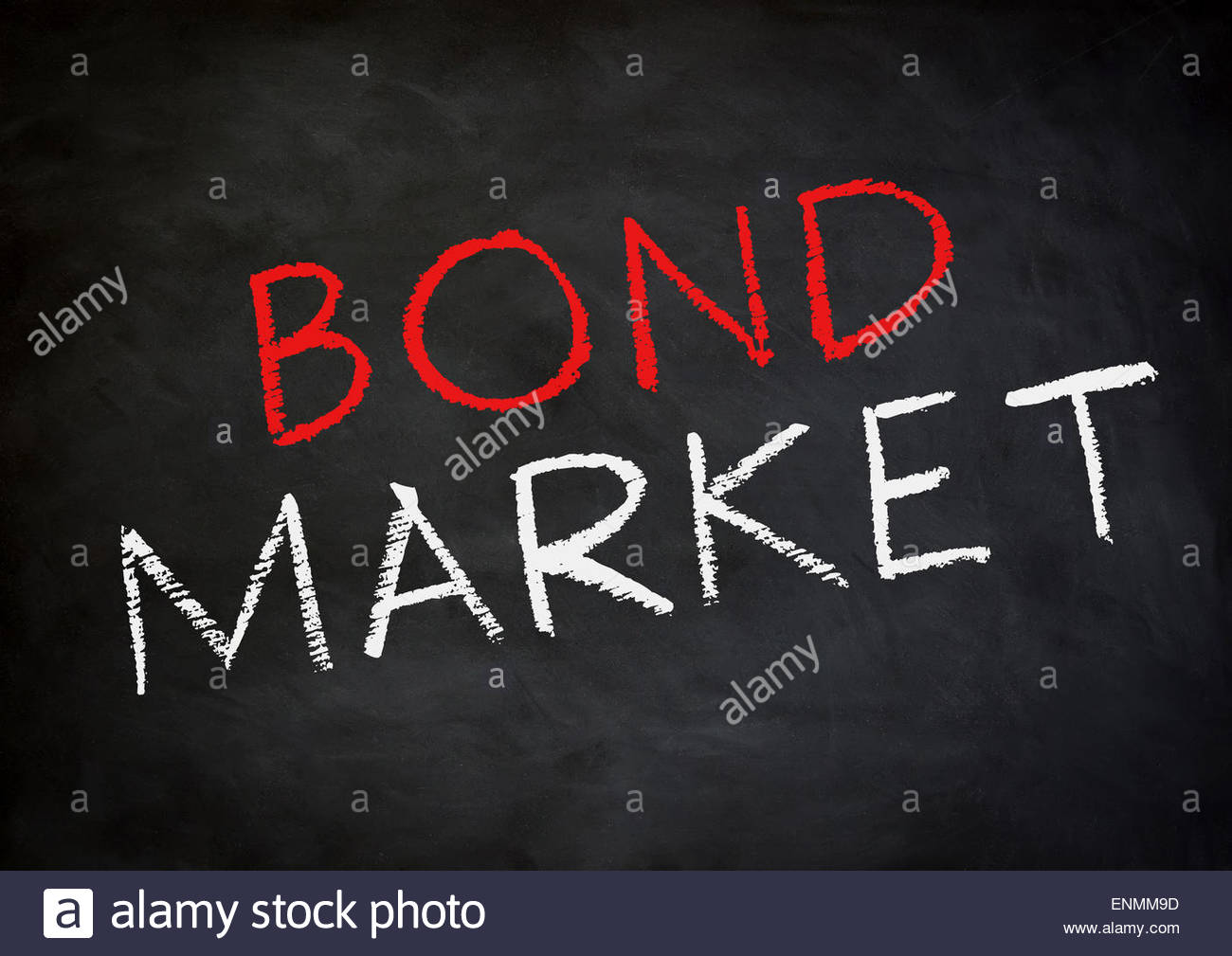 Bond Market - Stock Image