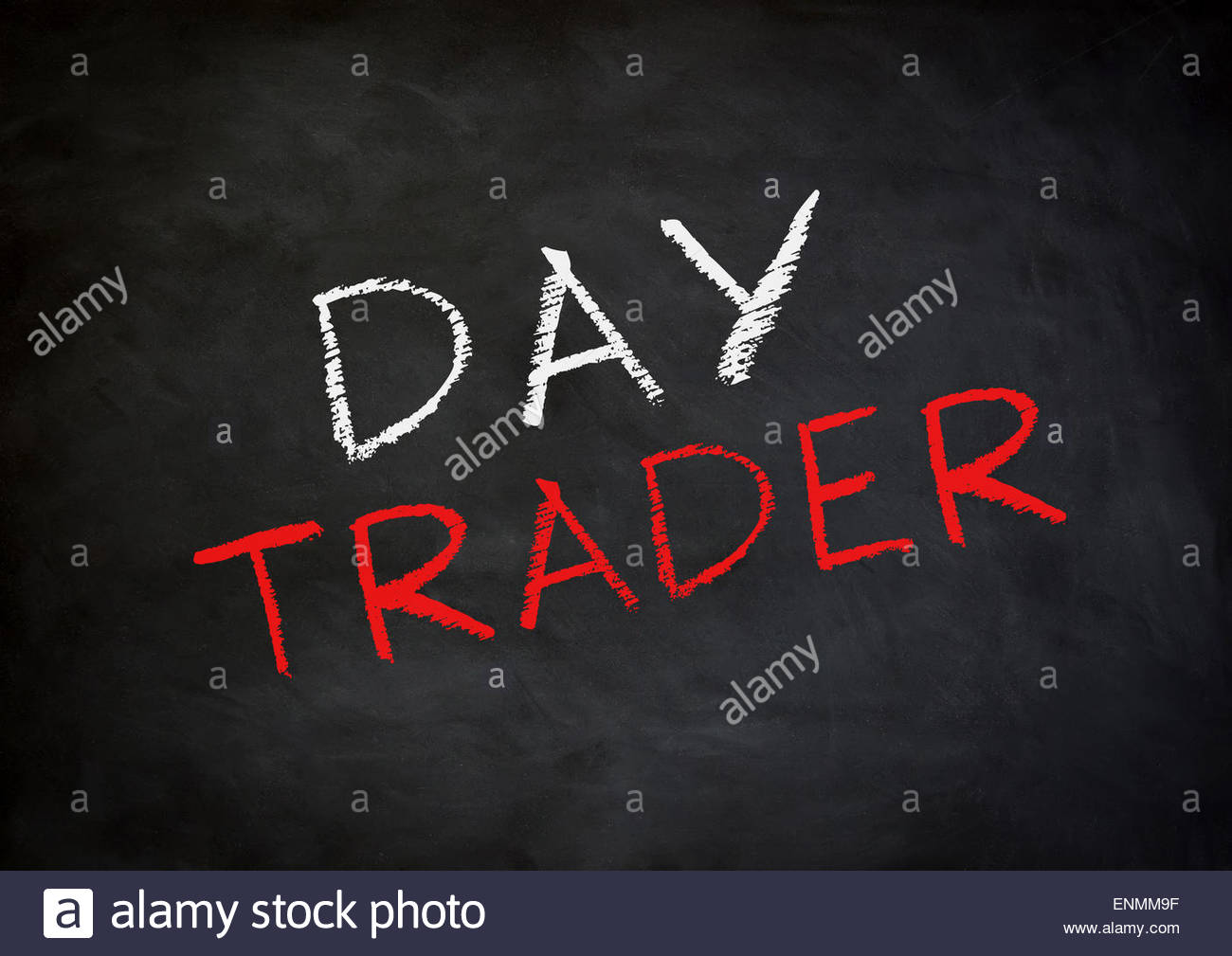 Day Trader - Stock Image