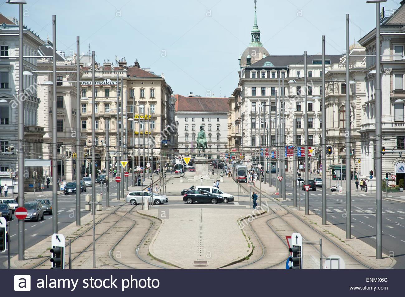 Wien Schwarzenbergplatz Stock Photo 82208852 Alamy