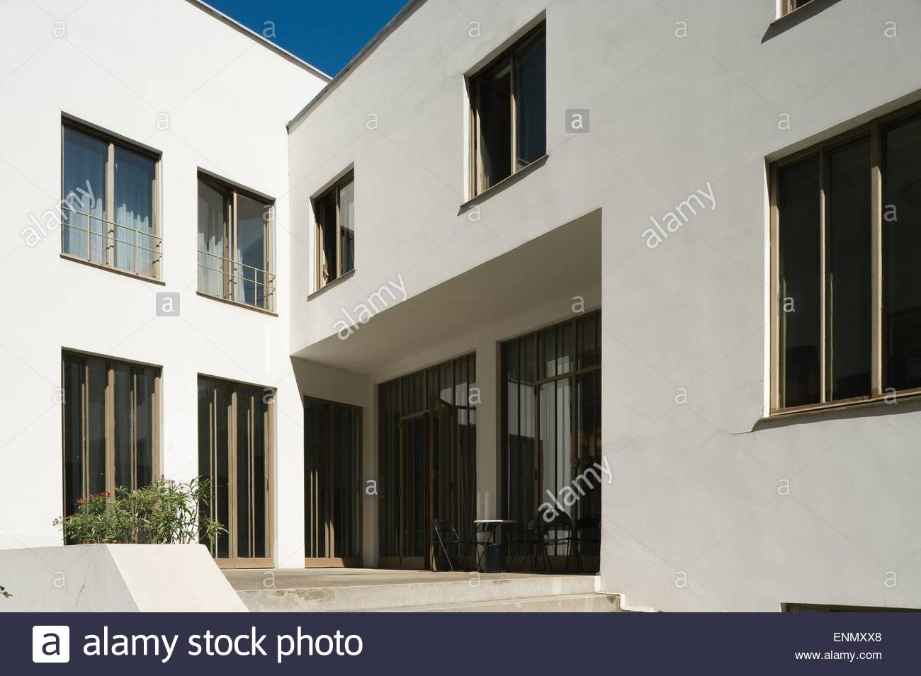 Wien, Haus Stonborough-Wittgenstein, Ludwig Wittgenstein 1926-1928 (Das Haus Wittgenstein ist ein Gebäude, - Stock Image