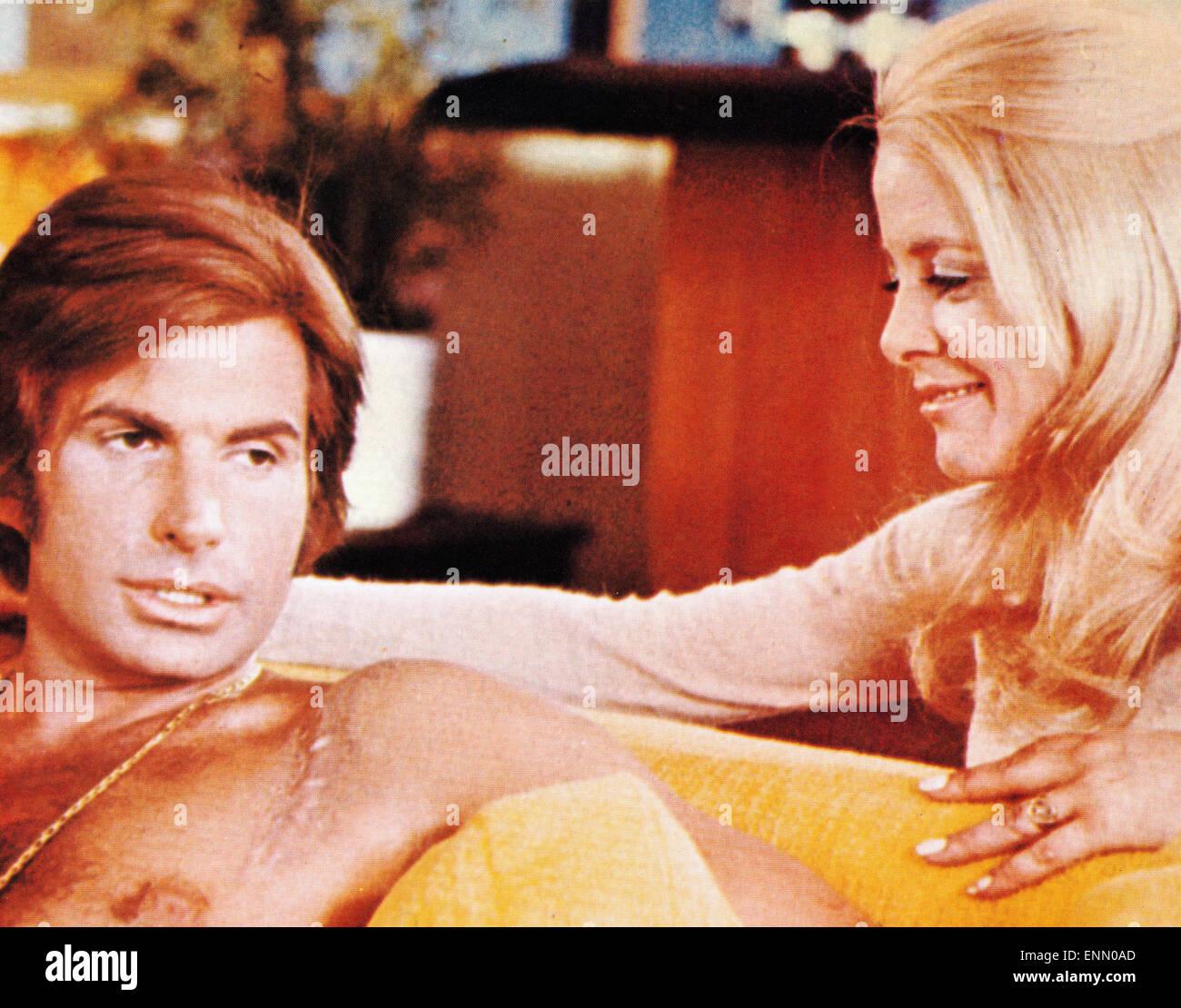 Evel Knievel, USA 1971, Regie: Marvin J. Chomsky, Darsteller: George Hamilton, Sue Lyon - Stock Image