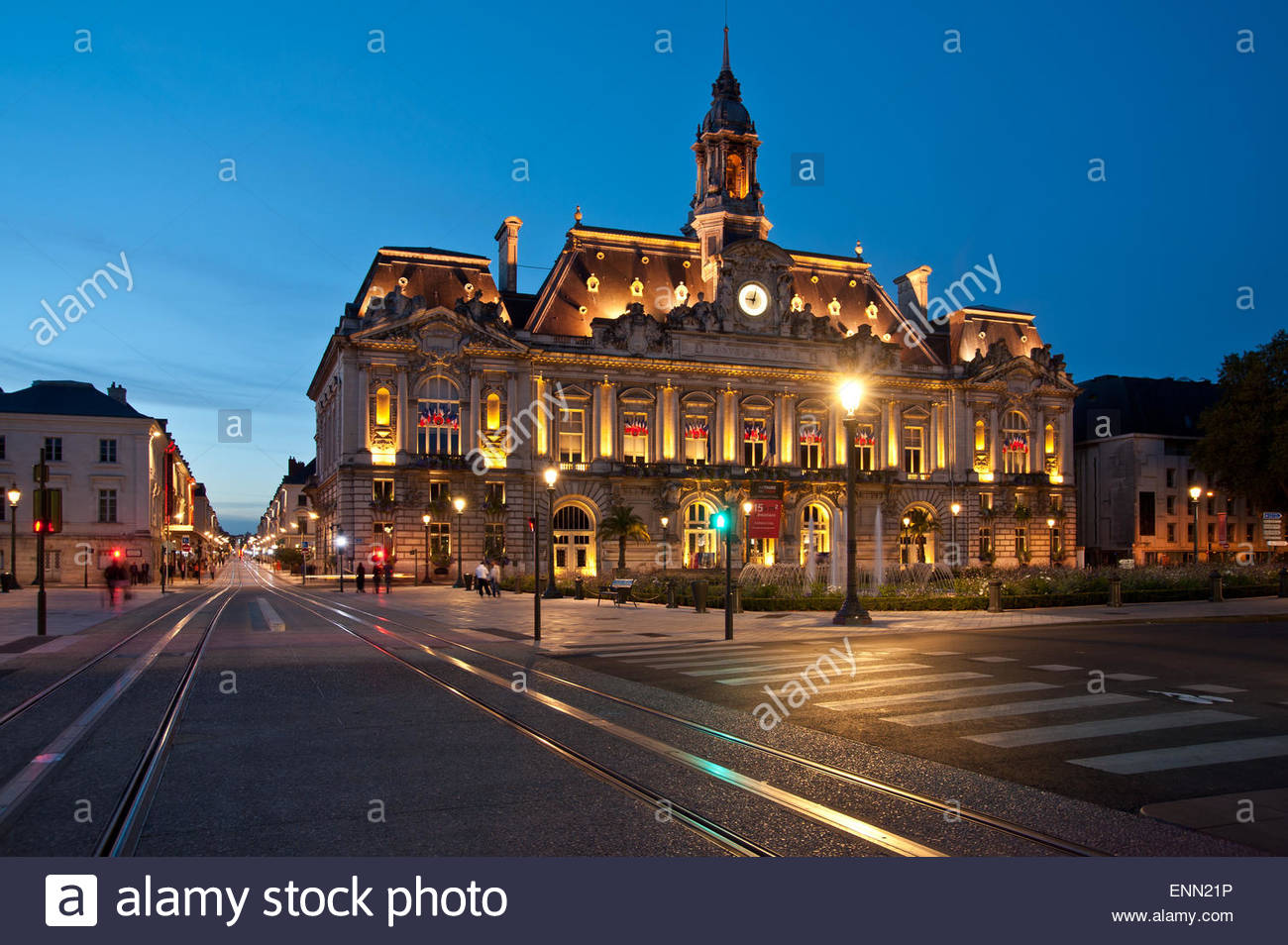 Tours - Stock Image