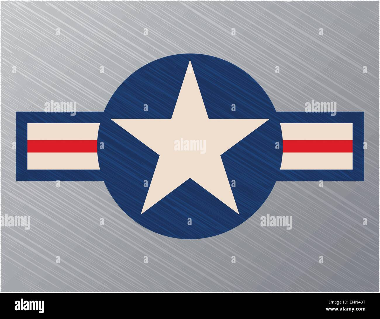 Us air force sign - Stock Image