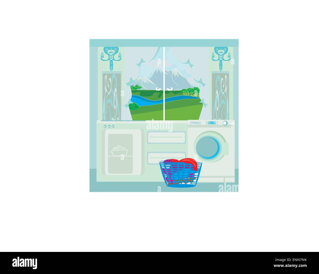 Tack Room Stock Vector Images - Alamy