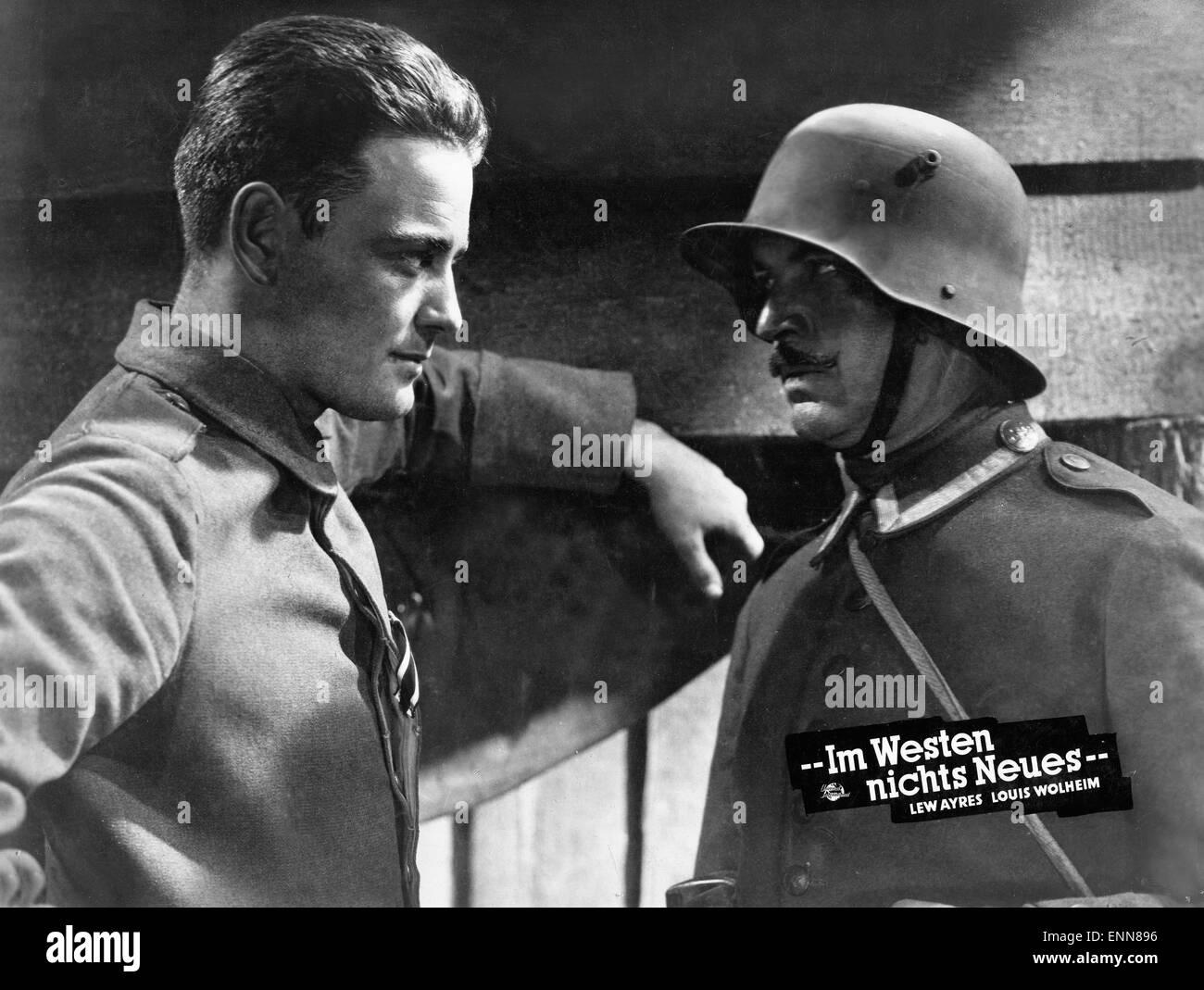 All Quiet On The Western Front Usa 1930 Aka Im Westen