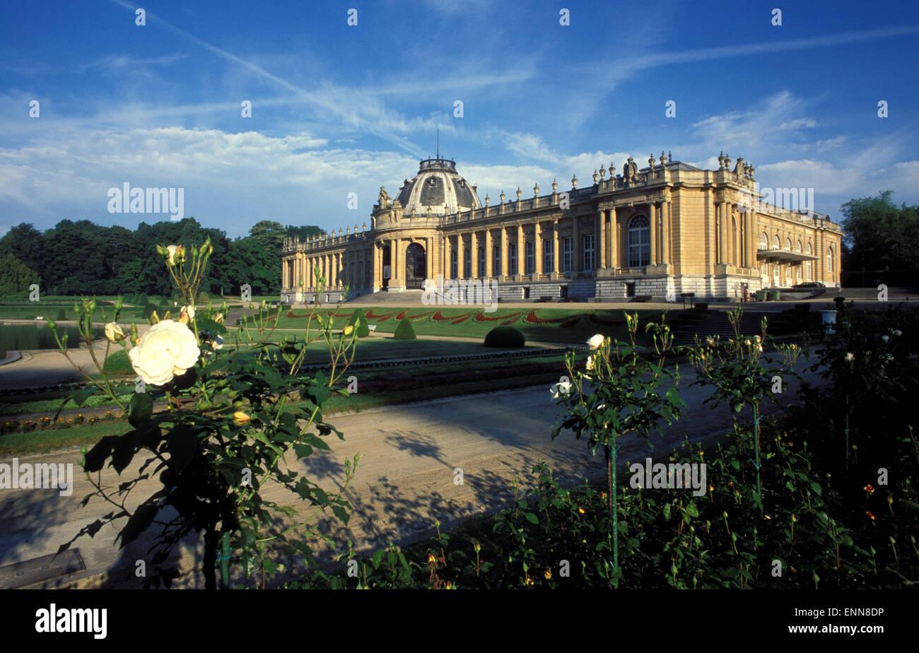 BEL, Belgium, Tervuren, the Royal Africa Museum.  BEL, Belgien, Tervuren, das Koenigliche Afrikamuseum. - Stock Image