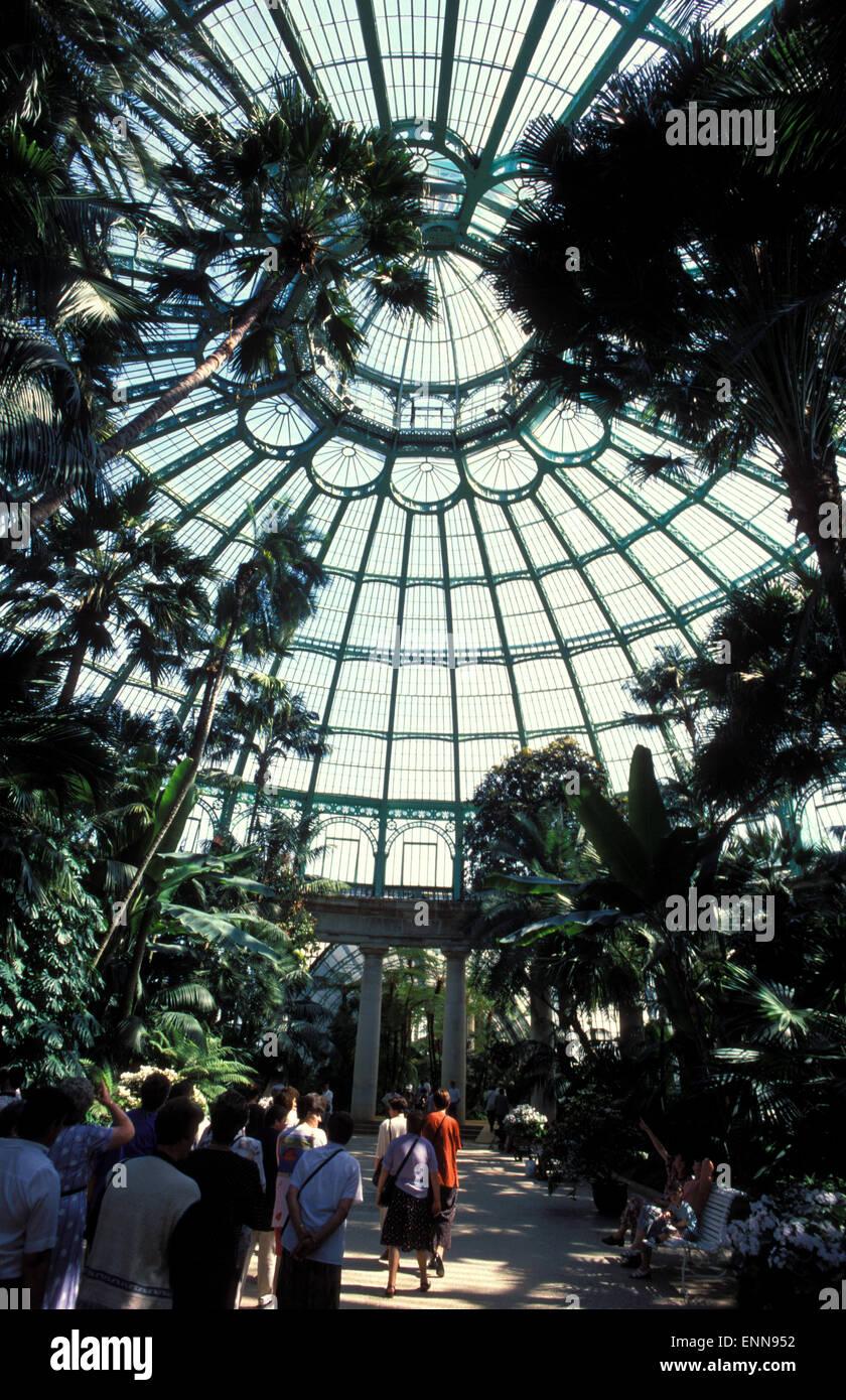 BEL, Belgium, Brussels, Royal greenhouse in the towndistrict Laeken.  BEL, Belgien, Bruessel, Koenigliche Gewaechshaeuser - Stock Image