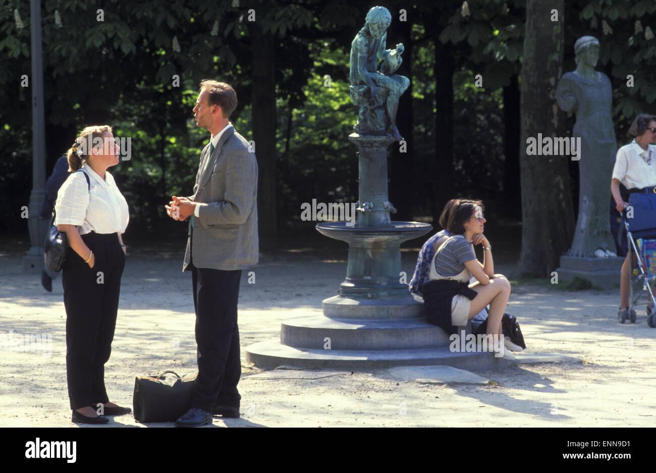 BEL, Belgium, Brussels, the municipal park, Parc de Bruxelles.  BEL, Belgien, Bruessel, im Stadtpark, Parc de Bruxelles. - Stock Image