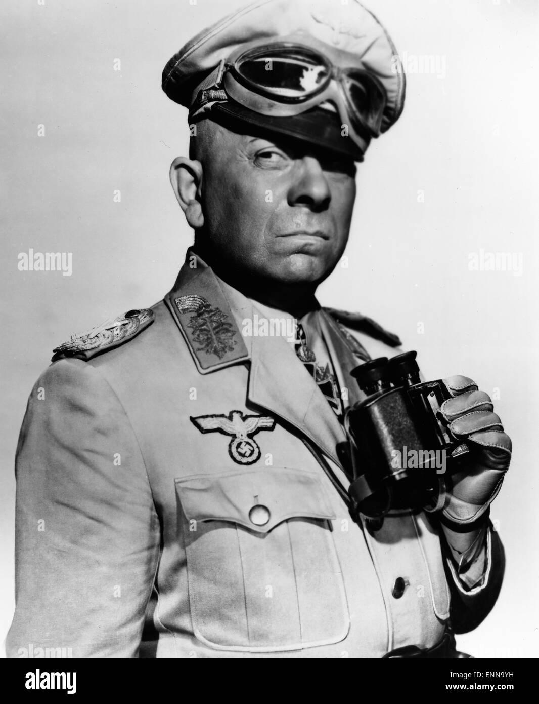 Five Graves to Cairo, USA 1943, aka: Fünf Gräber bis Kairo, Regie: Billy Wilder, Darsteller: Erich von - Stock Image