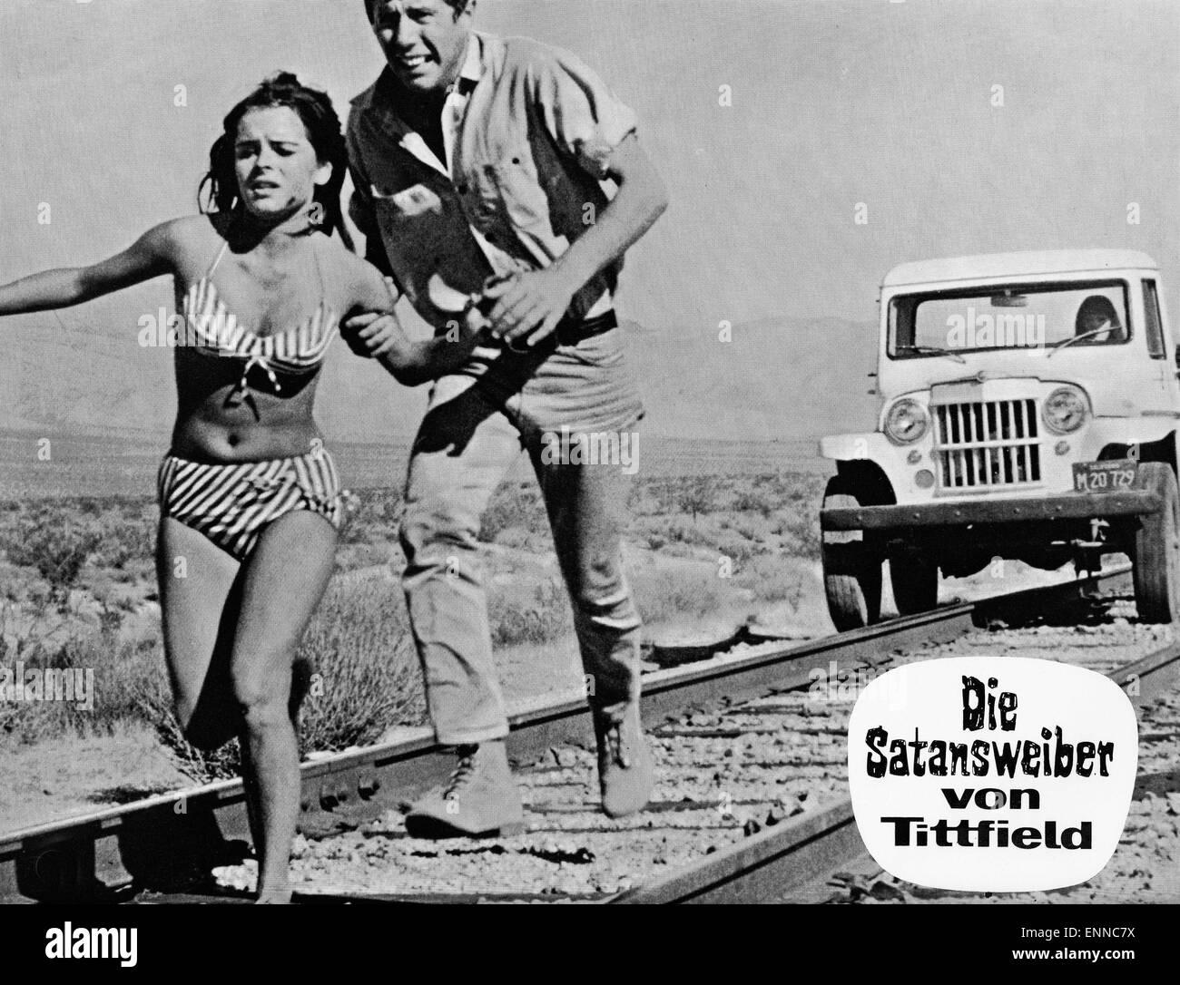 Faster, Pussycat! Kill! Kill!, USA 1965, aka: Die Satansweiber von Tittfield, Regie: Russ Meyer, Darsteller: Susan - Stock Image